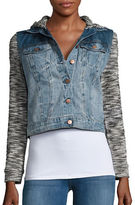 Jessica Simpson Pixie Knit and Denim Jacket