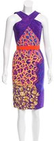 Peter Pilotto Belted Printed Dress