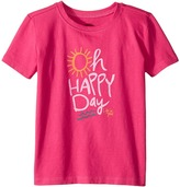 Life is Good Oh Happy Day Crusher Tee Girl's T Shirt