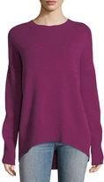 Theory Karenia R Crewneck Cashmere Sweater