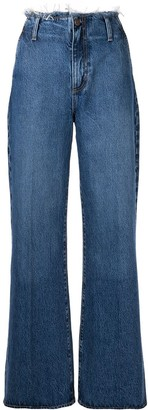 Nobody Denim Siena wide-leg jeans