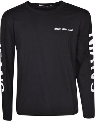 Calvin Klein Printed Logo Sweatshirt