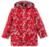 Petit Bateau Girls print raincoat