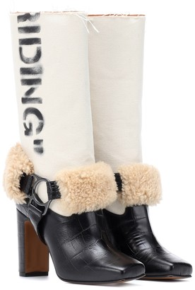 Off-White Off White Riding leather boots