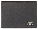 Salvatore Ferragamo Pebbled Leather Bifold Wallet