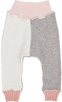 Agua Fine-Gauge Knit Cashmere Skinny Pants-GREY