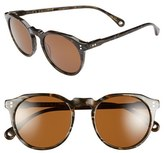 Raen Men's 'Remmy' 52Mm Sunglasses - Alder Brown