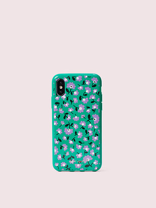Kate Spade Jeweled Party Floral Iphone X & Xs Case