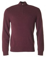 Hackett Lambswool Half Zip Jumper