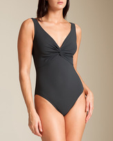 Karla Colletto Basic Twist Swimsuit