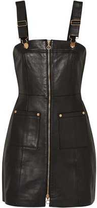 Alice McCall Cherry On Baby Leather Mini Dress