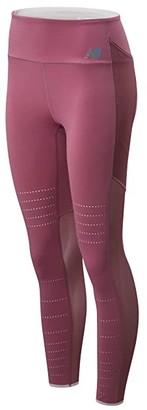 New Balance Q Speed Breathe Tights (Navajo Rose) Women's Casual Pants
