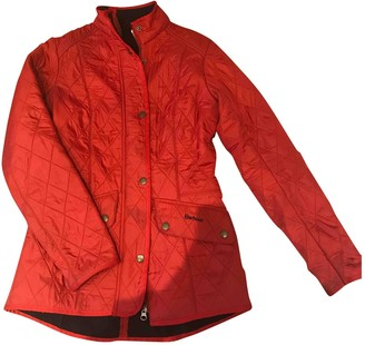 Barbour Red Synthetic Coats