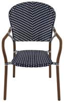 Threshold French Café Wicker Patio Dining Chair