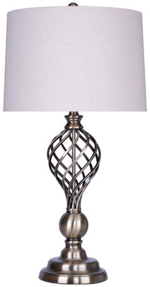"""Grandview Gallery 29.25"""" Antique Soft Brass Table Lamp Set of 2"""