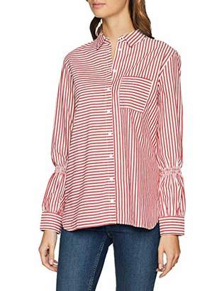 S'Oliver Women's 14.902.11.2297 Blouse, (Red Stripes 31g9), 12 (Size: )