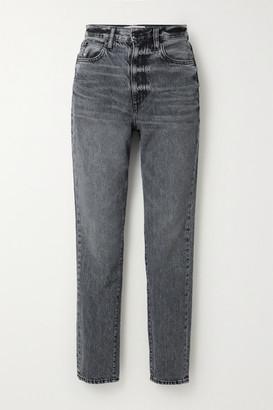 SLVRLAKE Beatnik High-rise Slim-leg Jeans - Gray