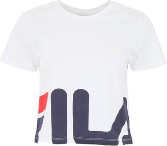 Fila Logo Cropped T-Shirt