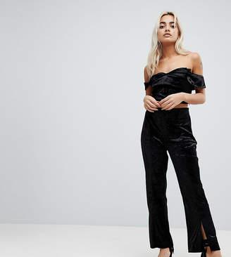 Vero Moda Petite High Waist Pants-Black