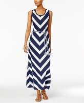 Style&Co. Style & Co Tie-Waist Maxi Dress, Only at Macy's