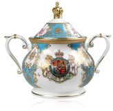 Harrods Royal Collection Trust Coat of Arms Sugar Bowl