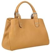 Soft Calf Leather Satchel Bag