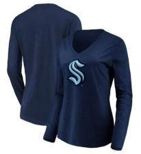 Majestic Seattle Kraken Women's Logo Long Sleeve T-Shirt