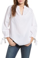 Madewell Women's Tie Sleeve Blouse
