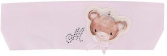 MonnaLisa crystal-embellished Teddy headband