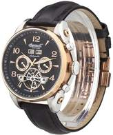 "Ingersoll Men's IN4514RBK ""San Bernardino"" Stainless Steel Automatic Watch with Leather Band"