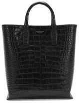 HUGO BOSS Elite C Tote Alligator-Embossed Leather Shopper One Size Black
