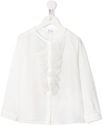 Bonpoint Ruffle Detail Blouse