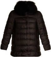 Herno Silk and cashmere quilted down jacket