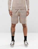 Asos Knitted Shorts With Textured Stitch