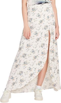 Volcom Blue Dusk Midi Skirt