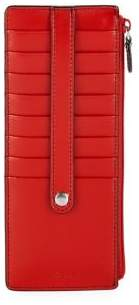 Lodis Zip Leather Card Case