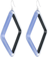 Alexis Bittar Geometric Lucite Drop Earring