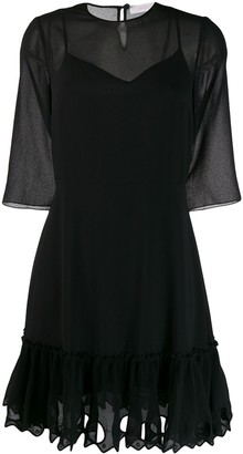 See by Chloe ruffled hem dress