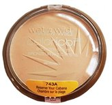 Wet n Wild Color Icon Bronzer with SPF 15, Reserve Your Cabana [743A] 0.46 oz ( Pack of 1 )