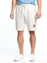 "Old Navy Graphic Fleece Shorts for Men (9"")"