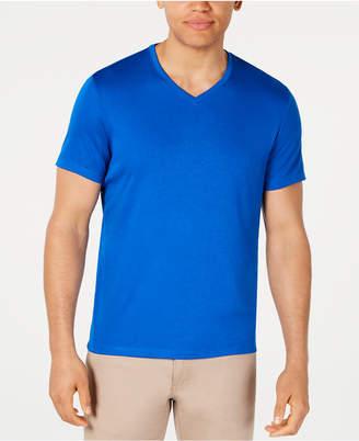 Alfani Men Soft Touch Stretch V-Neck T-Shirt