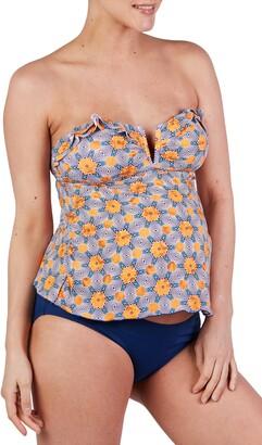 Cache Coeur Wax Tankini Maternity Swimsuit