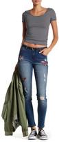 Kensie Embellished Skinny Jean