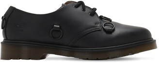 Raf Simons Dr. Martens Leather Shoes W/ Nickel Ring
