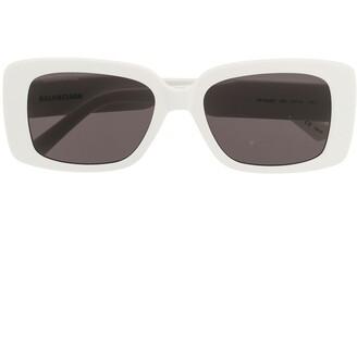 Balenciaga Eyewear Paris square-frame sunglasses