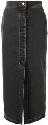 Vivienne Westwood Trouser Denim Skirt
