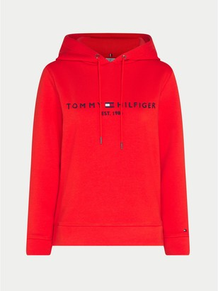 Tommy Hilfiger Curve Relaxed Fit Logo Hoodie