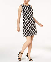Taylor Sequined-Print Dress
