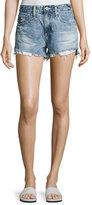 AG Jeans Sadie Mid-Rise Denim Shorts, Indigo