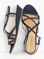 Talbots Capri Leather Sandals